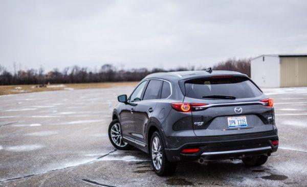 2017 Mazda CX-9 back review