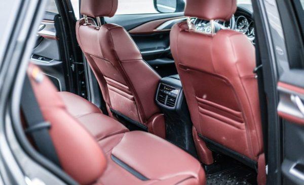 2017 Mazda CX-9 seats review