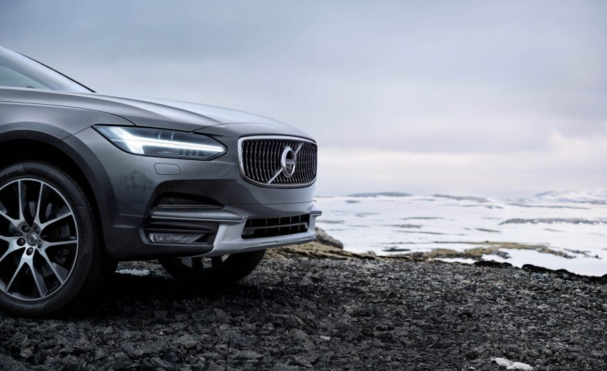 2017 Volvo V90 Cross Country Interior Front Grille View