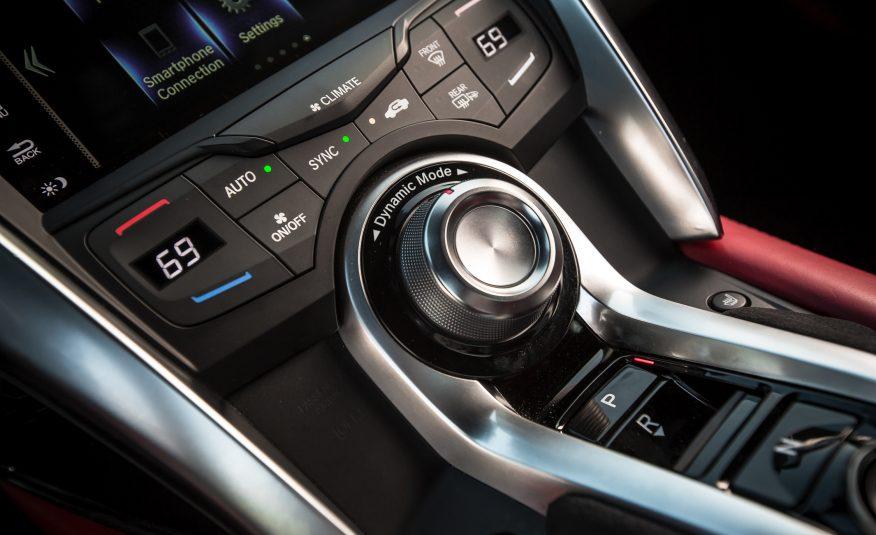 2017 Acura NSX Interior View