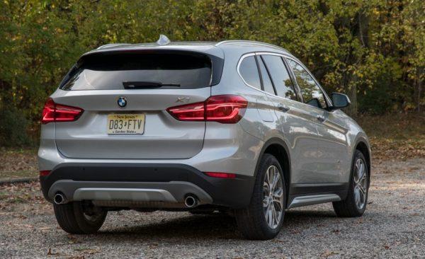 2017 BMW X1 back