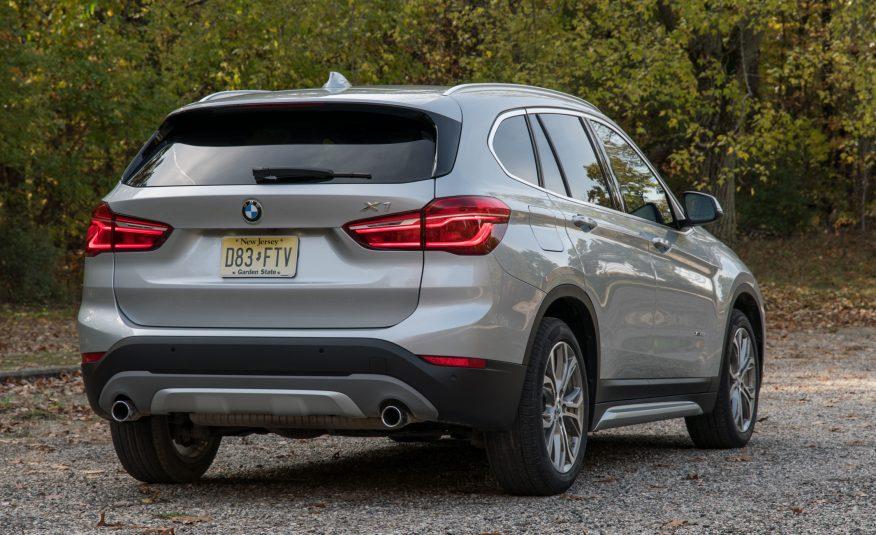 2017 BMW X1 Rear View