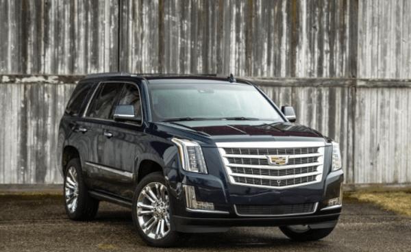 2017 Cadillac Escalade Front