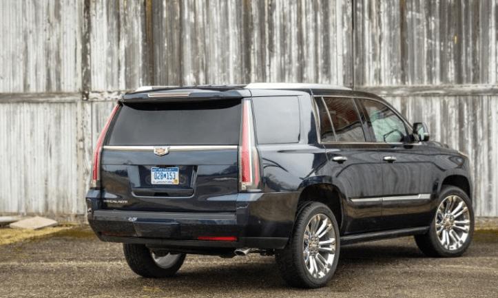 2017 Cadillac Escalade Rear View