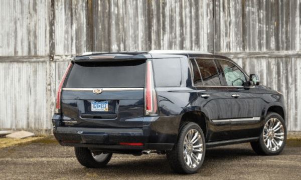 2017 Cadillac Escalade rear review