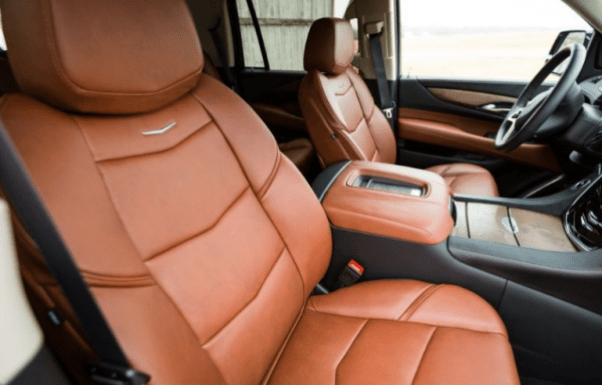 2017 Cadillac Escalade seats