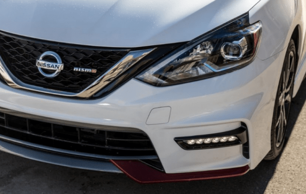 2017 Nissan Sentra NISMO front grille