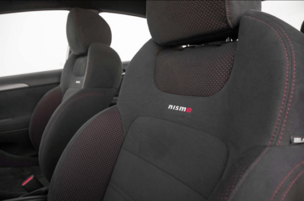 2017 Nissan Sentra NISMO seats review