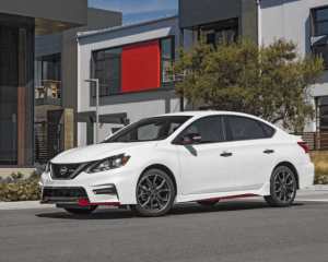 2017 Nissan Sentra Nismo Side View