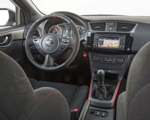 2017 Nissan Sentra Nismo Interior Steering View