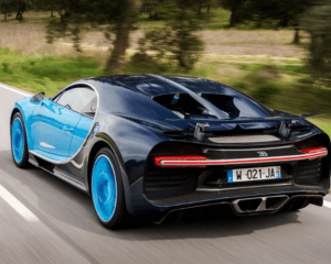 2017 Bugatti Chiron Rear View
