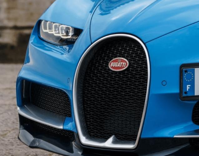 2017 Bugatti Chiron Grille View