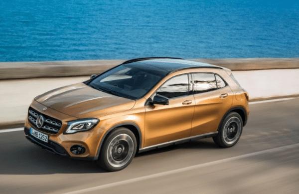 2018 Mercedes Benz GLA Class top