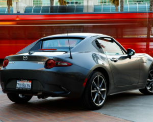 2017 Mazda MX-5 Miata Rear View