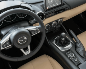 2017 Mazda MX-5 Miata Interior Steering View