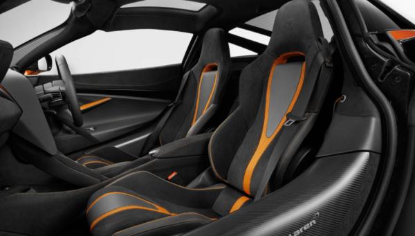 2018 McLaren 720S Seats review interior