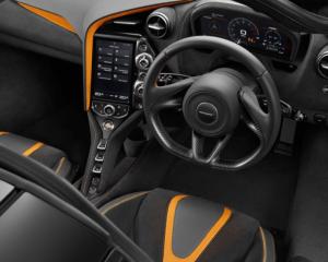 2018 McLaren 720S Interior Steering View