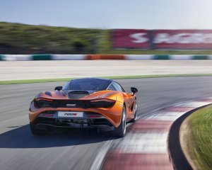 2018 McLaren 720S Rear View