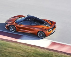 2018 McLaren 720S Top View