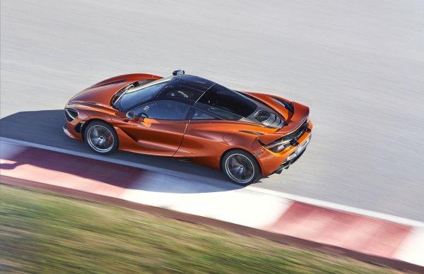 2018 McLaren 720S top review exterior