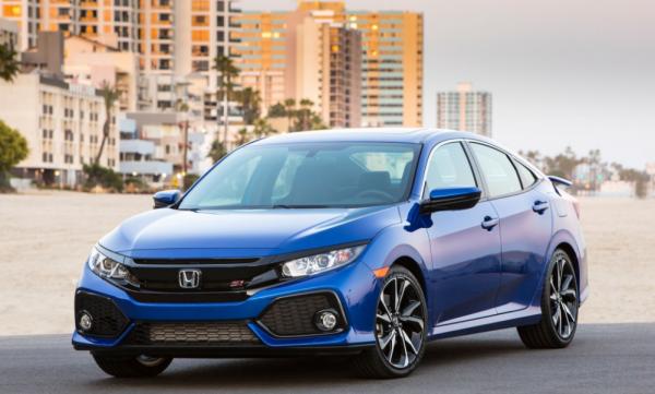 2017 Honda Civic Si Front review