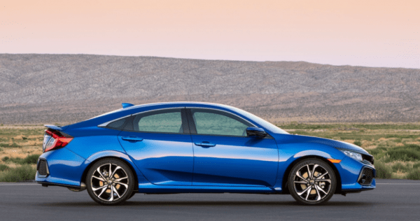 2017 Honda Civic Si side review exterior