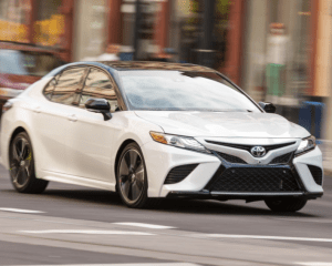 2018 Toyota Camry Front View