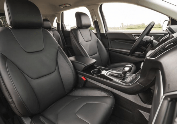 2017 Ford Edge interior seats review