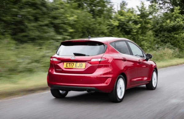 2018 Ford Fiesta 1.0T rear review