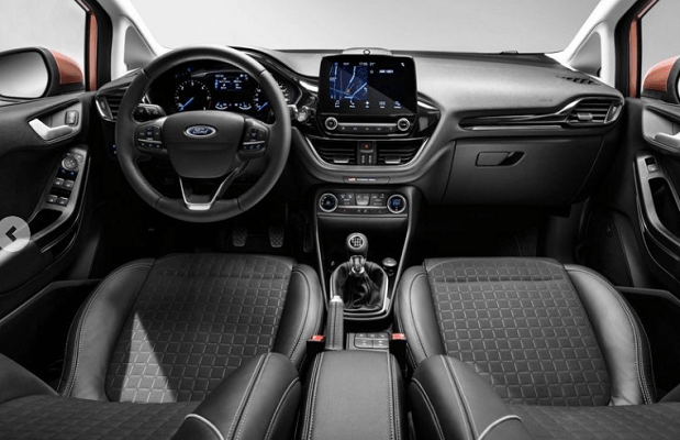 2018 Ford Fiesta 1.0T Interior Steering View