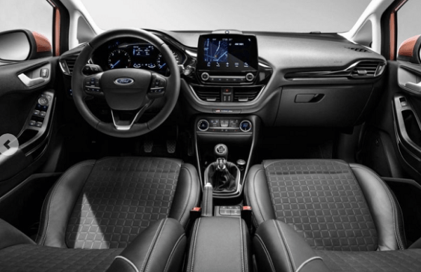 2018 Ford Fiesta 1.0T interior steering review