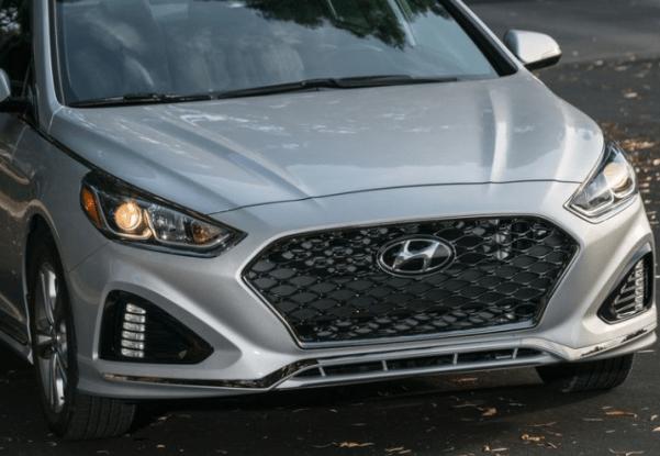 2018 Hyundai Sonata front headlights review