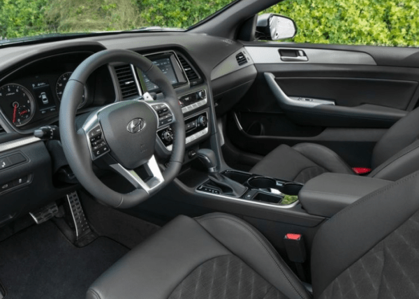 2018 Hyundai Sonata interior dashboard review