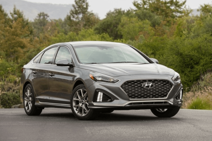 2018 Hyundai Sonata Front View #11084  Cars Performance