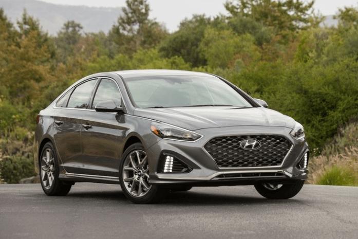 2018 Hyundai Sonata Front View