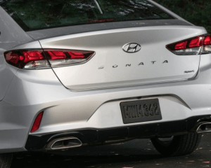 2018 Hyundai Sonata Rear View