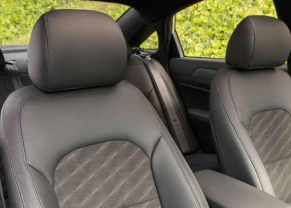 2018 Hyundai Sonata interior seat review