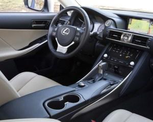 2017 Lexus IS Interior View