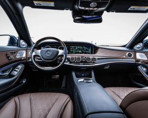 2017 Mercedes Maybach Dashboard
