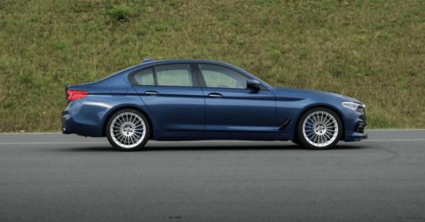 2018 BMW Alpina B5 Biturbo side review