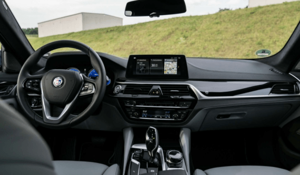 2018 BMW Alpina Steering review