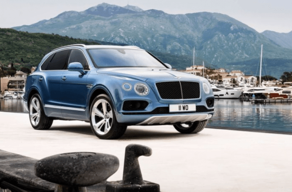 2018 Bentley Bentayga review front