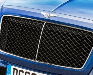 2018 Bentley Bentayga Grille View