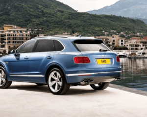 2018 Bentley Bentayga Rear View