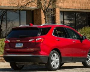2018 Chevrolet Equinox Rear View
