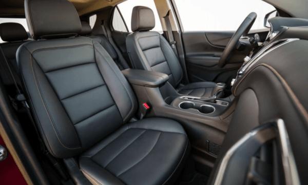 2018 Chevrolet Equinox seats review