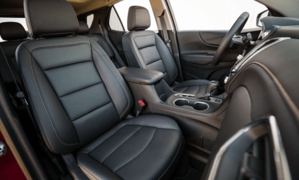 2018 Chevrolet Equinox seats review