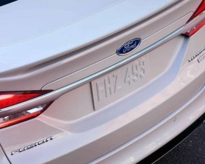 2018 Ford Fusion Exterior View