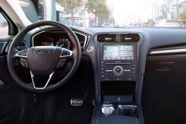 2018 Ford Fusion Dashboard review