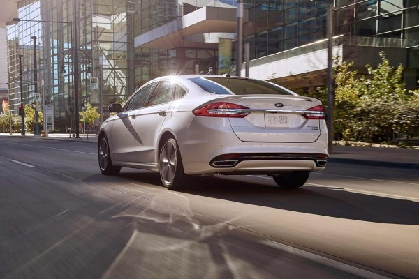 2018 Ford Fusion rear review